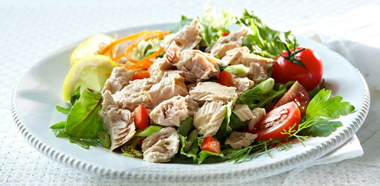 Albacore Tuna and Artichoke Balsamic Salad