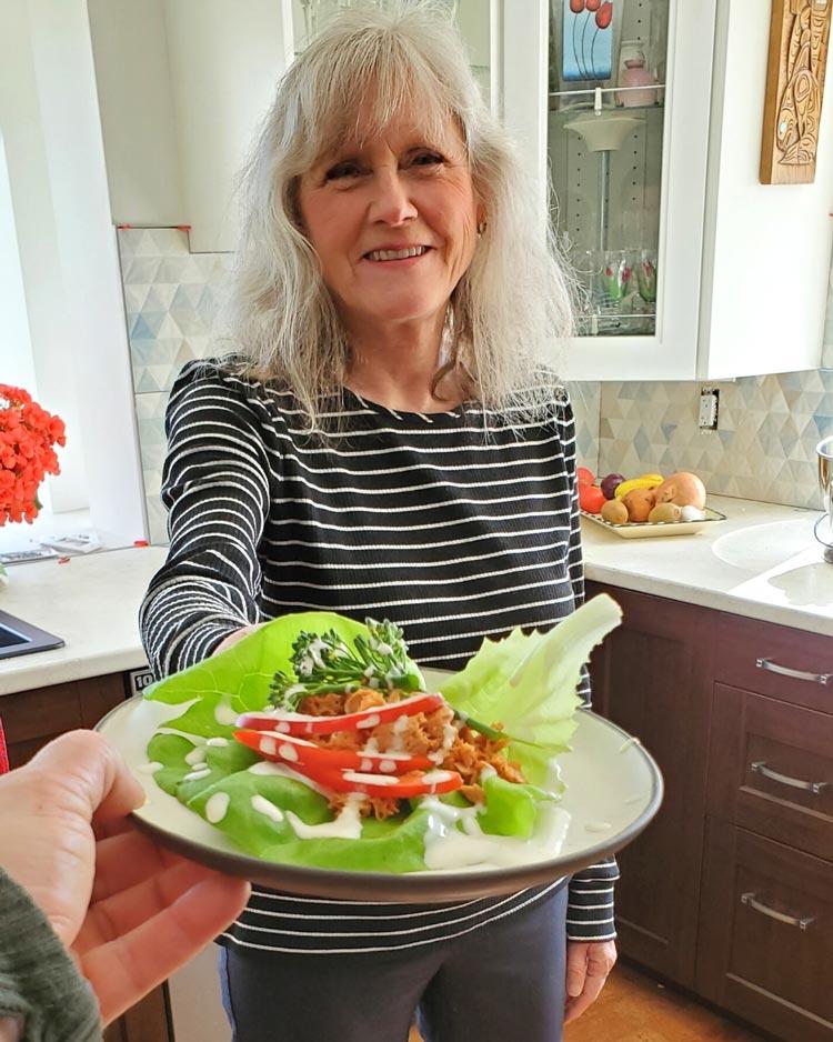 Crispy Thai Chili Lettuce Wraps