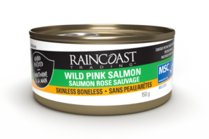 Wild Pink Salmon - Skinless Boneless