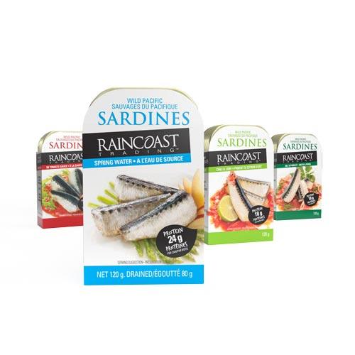 Raincoast Pacific Sardines