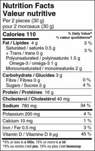 Salmon Jerky - Original - NFP