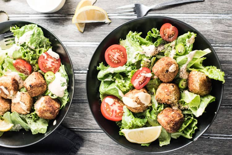 Smoky Dijon Tuna Po Boy Salad