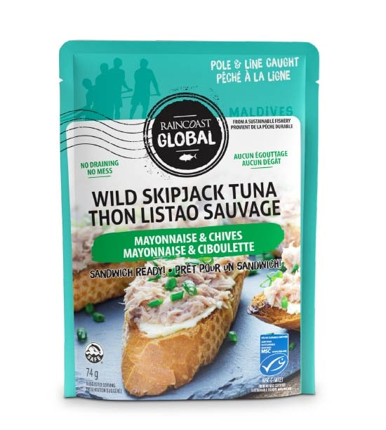 Wild Skipjack Pouch Mayo & Chives
