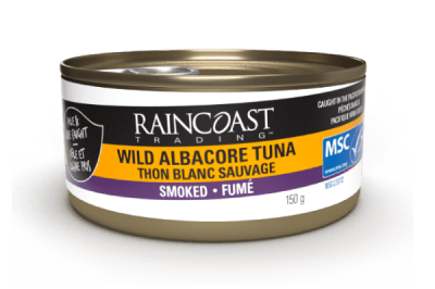 Canned Albacore Tuna Smoked